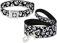 Buckle Down Seat Belt Dog Collar or Leash - Jack Nightmare Christmas - Halloween