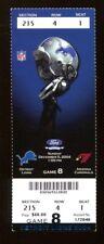 2004 Detroit Lions v Arizona Cardinals Ticket 12/5 Ford Field 39375
