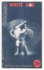 Vintage 1966 Chicago White Sox vs Boston Red Sox Program, 50 Pages, Yaz,