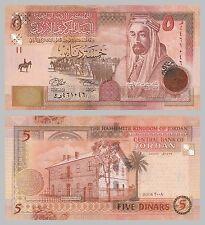 Giordania/JORDAN 5 dinars 2008 p35c unz.