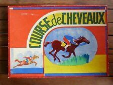 Ancien jeu de société Course de chevaux - Champ de course hippique - Complet