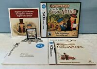Professor Layton and the Curious Village (Nintendo DS, 2008) Complete - Tested