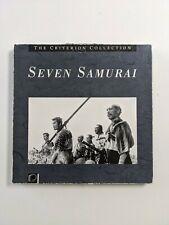 Seven Samurai_Laserdisc_The Criterion Collection