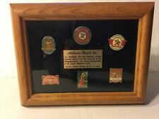 ANHEUSER-BUSCH NOSTALGIC PIN SET, LIMITED EDITION 1 of 5000, MIB