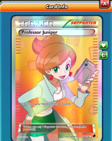 DIGITAL Professor Juniper Full Art pokemon tcg online