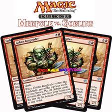 MTG 4 X GOBLIN RINGLEADER - Cabecilla trasgo - DD: Merfolk-Goblins ENGLISH