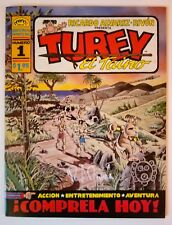TUREY EL TAINO COMIC BOOKS # 1, 2, 3. MINT & SIGNED BY AUTHOR