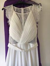 Boho Beach Wedding Dress Hen Party Size 14