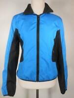 Beautiful Women's Medium Ralph Lauren Active Blue LS Zipper Windbreaker Jacket