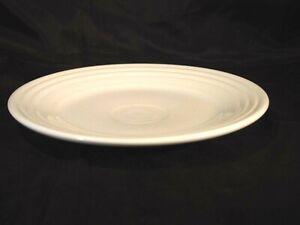 Fiestaware 9 inch 22.86 cm White Lunch Plate Fiesta White Luncheon Cream