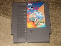 The Adventures of Lolo 1 Nintendo Nes Cleaned & Tested Authentic