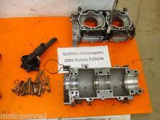 05 POLARIS Fusion 900 EFI 06 IQ ENGINE CASES CRANKCASE CRANK CASE 5631388 LIBERT