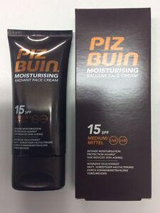 Piz Buin Moisturising Face Cream Radiant Sun Cream SPF15 50ml
