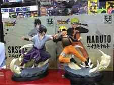 Naruto Sasuke VS  Naruto ultimate storm  model statue figure Height: 23CM -new