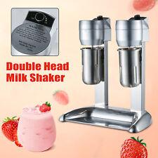 New Listing300w Commercial Milk Shake Machine Drink Mixer Shake Smoothie Milk Double Head