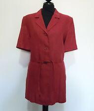 PIERRE CARDIN PARIS Camicia Donna Lino Woman Flax Shirt Sz.L