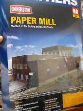 """Walthers Cornerstone HO #3902 Paper Mill 20-3/4 x 11-3/4 x 8-3/4"""" (Kit Form)"""