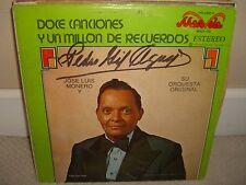 Jose Luis Monero - Doce Canciones y Un Millo De Recuerdos - Rare LP Excellent L1