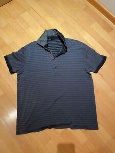 Hugo Boss Boss T-shirt homme taille 2XL XXL Homme BNWT Bleu Marine Neuf