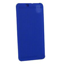 CUSTODIA DOT FLIP CASE ORIGINALE HTC HC M170 per HTC DESIRE 826 BLU
