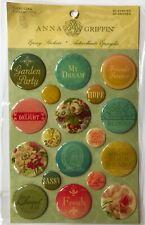 Anna Griffin Carolina Collection Epoxy Stickers