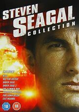 STEVEN SEAGAL LEGACY - 8 FILM BOXSET - DVD - REGION 2 UK
