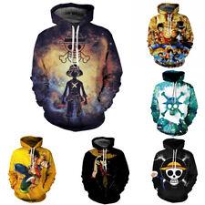 Anime One Piece 3D Print Pullover Hoodie Men/Women Sweater Sweatshirts Tops