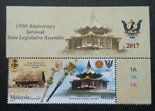 Malaysia 150th Anniv Sarawak State Legislative Assembly 2017 (stamp title MNH