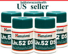 LIV 52 DS 5X Bottles Himalaya Liver Care Officially with Certificates BESTSELLER
