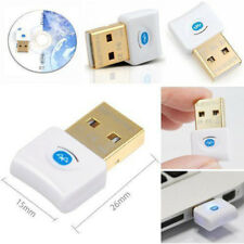 Version V4.0 USB Bluetooth Dongle Adaptateur sans Fil Edr Pc Windows 7-10 Vista