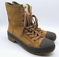 Converse All Star Women's Outsider Sneaker Suede Boots Size 7 Brown