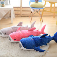 Whale Shark Soft Stuffed Animal Ocean Spotted Fish Amazing Plush Toy Kid Gift uk