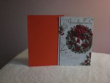 For Arts Sake - Christmas Card for Grandparents - A beautiful Christmas Wreath