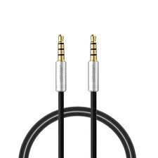 ARCHEER 3.5mm Stereo 4-Pole Male to Male Extension Cord AV Audio Cable For iPhon