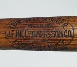 """1911-15 Eddie Collins 33"""" Dash Dot J.F Hillerich & Son Co Louisville Slugger Bat"""