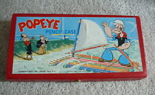 Popeye King Features - Vintage 1950s Pencil Case Box - Wimpy Olive Oyl