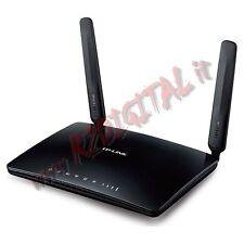 ROUTER 4G LTE TP-LINK TL-MR6400 POCKET MODEM HOTSPOT SIM INTERNET USB CHIAVETTA
