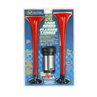 Wolo 417 Dual Trumpet Big Rig Sound Air Horns Low and High Tone 12V