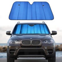Windshield Sun Shade for Car Blue Thicken 5-Layer Auto Front Sunshade Visor Cove