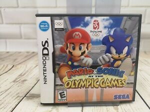 Mario & Sonic at the Olympic Games Nintendo DS -Complete, US version