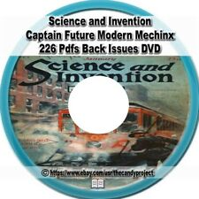 Science and Invention Magazines Electrical Experimenter 226 PDF 2 DVD