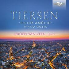 JEROEN VAN VEEN - POUR AMELIE: PIANO MUSIC 2 CD NEW+ YANN PIERRE TIERSEN
