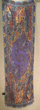 Etro Spa 100% Scarf Multi-Colored Paisly Scarf