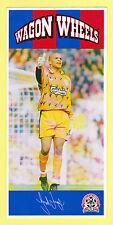 FOOTBALL - WAGON WHEELS XXL CARD  -  NO. 6  -  DAVID  JAMES