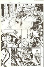 Fantastic Four #506 (77) p.6 - Reed in Lab - 2004 art by Howard Porter Comic Art