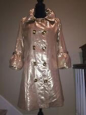 DOLCE & GABBANA RUNWAY COUTURE EVENING COCKTAIL WEDDING JACKET COAT TRENCH CAPE
