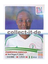 Panini Frauen WM World Cup 2015  - Sticker 317 - Osarenoma Igbinovia