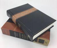 KJV Reader's Bible (2016, Imitation Leather) Vintage Tooled Leather Touch