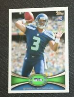 *INVEST* MVP 2012 Topps Russell Wilson #165 Football RC Rookie Card MINT PSA