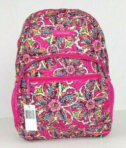 Vera Bradley Lighten Up Essential Backpack SUNBURST FLORAL Bag School *EXACT*